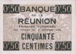 Reunion, 50 Centime, P-0030