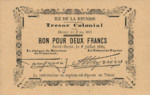 Reunion, 2 Franc, P-0003
