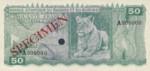 Rwanda - Burundi, 50 Franc, P-0004ct,BERB B4t