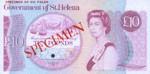 Saint Helena, 10 Pound, P-0008s,GOSH B4s