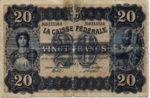 Switzerland, 20 Franc,