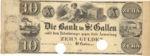 Switzerland, 10 Gulden,