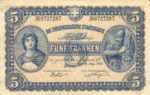 Switzerland, 5 Franc, P-0014