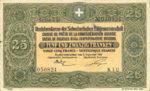 Switzerland, 25 Franc, P-0023b