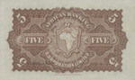 South Africa, 5 Pound, S-0554s v1