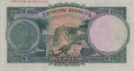 Southern Rhodesia, 1 Pound, P-0010as