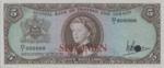 Trinidad and Tobago, 5 Dollar, P-0027ct,CBTT B2t