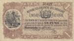 Uruguay, 1 Peso, A-0118