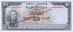 Venezuela, 50 Bolivar, P-0047s