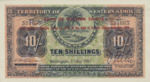 Western Samoa, 10 Shilling, P-0010a,BWS B1b