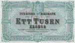 Sweden, 1,000 Krone, P-0012ct