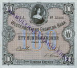 Sweden, 100 Krone, S-0710