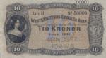 Sweden, 10 Krone, S-0708s