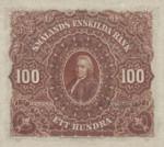 Sweden, 100 Krone, S-0499s v2
