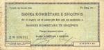 Albania, 20 Franc, SB1001