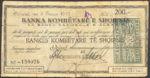Albania, 200 Franc, SB242