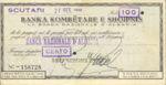 Albania, 100 Franc, SB860