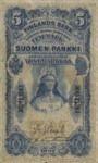 Finland, 5 Markka, P-0001a