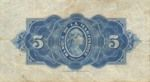 Martinique, 5 Franc, P-0016b Sign.2