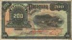 Paraguay, 200 Peso, P-0153