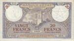 Morocco, 20 Franc, P-0018a
