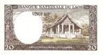 Laos, 20 Kip, P-0011a,B211a