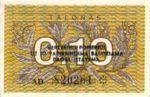 Lithuania, 0.10 Talonas, P-0029b