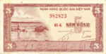Vietnam, South, 5 Dong, P-0013a,NBV B3a