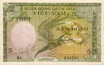 Vietnam, South, 5 Dong, P-0002a,NBV B4b