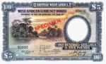 British West Africa, 100 Shilling, P-0011as