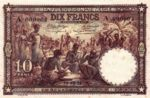 Belgian Congo, 10 Franc, P-0009