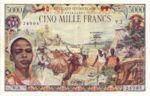 Central African Republic, 5,000 Franc, P-0011