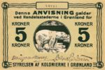 Greenland, 5 Krone, P-0014A