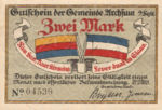 Germany, 2 Mark, 40.1a
