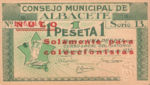 Spain, 1 Peseta,