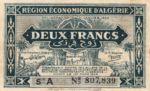 Algeria, 2 Franc, P-0099a A