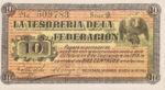 Mexico, 10 Centavo, S-1058