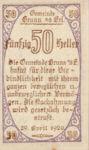 Austria, 50 Heller, FS 110a