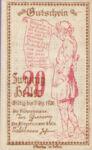 Austria, 20 Heller, FS 110a
