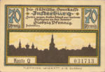 Germany, 70 Pfennig, 645.1a