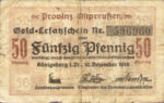 Germany, 50 Pfennig, O32.1a