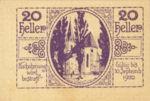 Austria, 20 Heller, FS 54d