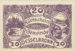 Austria, 20 Heller, FS 119a