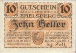 Austria, 10 Heller, FS 140Ia