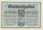 Austria, 50 Heller, FS 140Ia