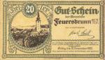 Austria, 20 Heller, FS 199