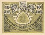 Austria, 10 Heller, FS 374a