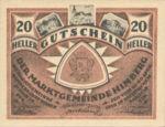 Austria, 20 Heller, FS 374a