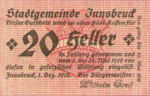 Austria, 20 Heller, FS 409b