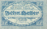 Austria, 10 Heller, FS 445Ib